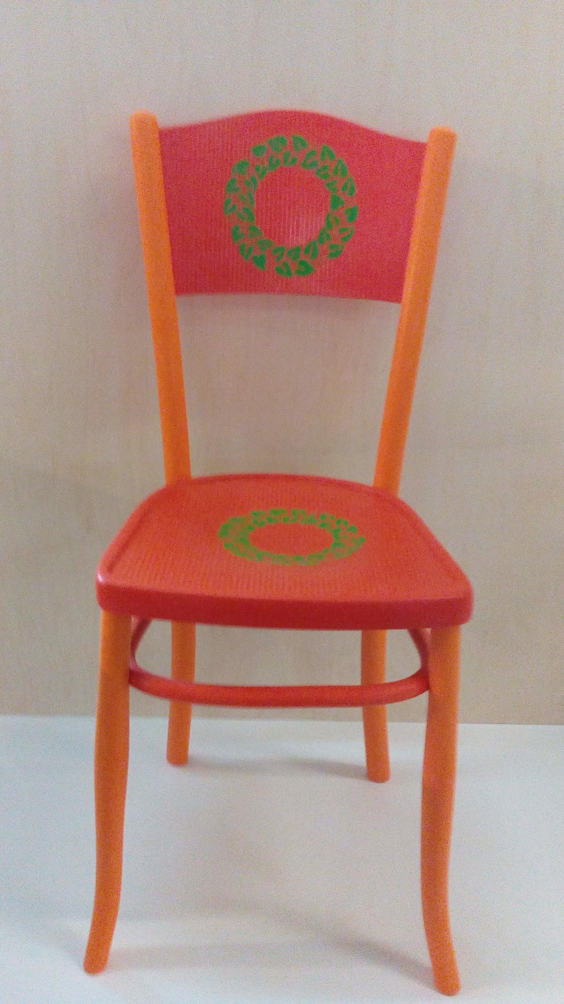 Sedie Decorate A Mano.Sedie Laccate E Decorate Mastro Pompei